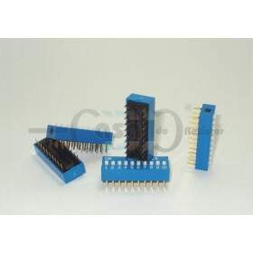 Chave Dip Switch 180° - 10 vias (ZBDS0004)