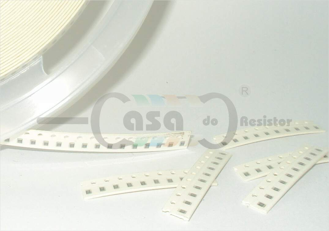 Resistor SMD 0805 0,12W 5% - 3M9 (ZCRS0217)