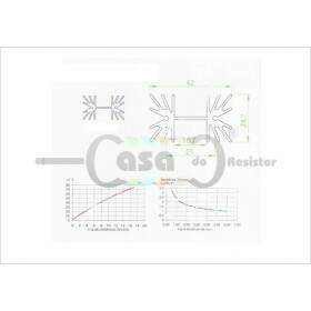 Dissipador de Calor FNT- 004 40mm