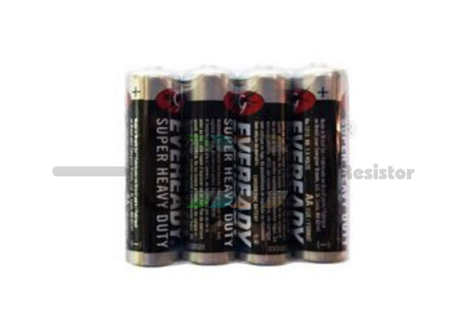 Pilha pequena AA - pack c/ 4 unidades - Eveready Super Heavy Duty (ZVBP0024)