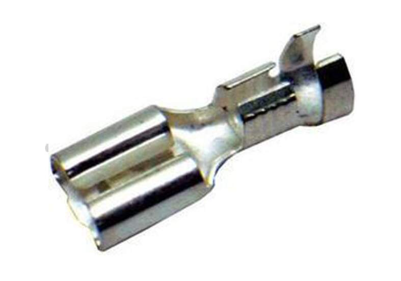 Terminal faston prata 6,3mm