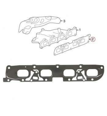 Junta Coletor Escape Chevrolet Captiva 2.4 2008 - 2012