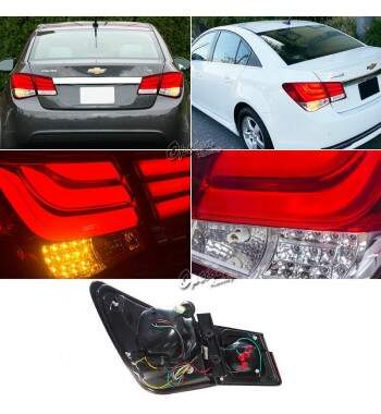 Lanterna Traseira Led Chevrolet Cruze Sedan 2011 - 2014
