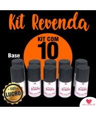 KIT BASE BOMBA COM 10 UNIDADES