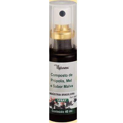 Composto de Própolis, Mel Sabor Malva (Spray) 40ml - 0847 QE2017