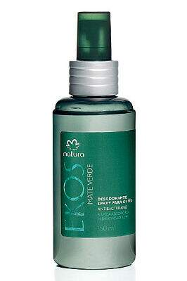 Desodorante Spray para os Pés Mate Verde 150ml - 31536