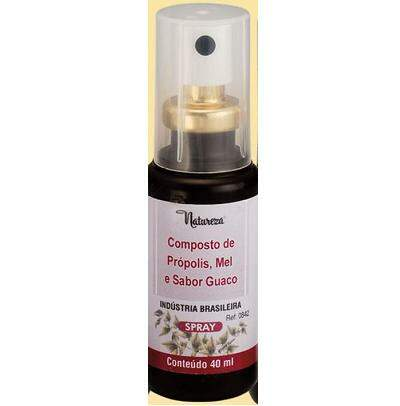 Composto de Própolis, Mel Sabor Guaco (Spray) 40ml - 0842