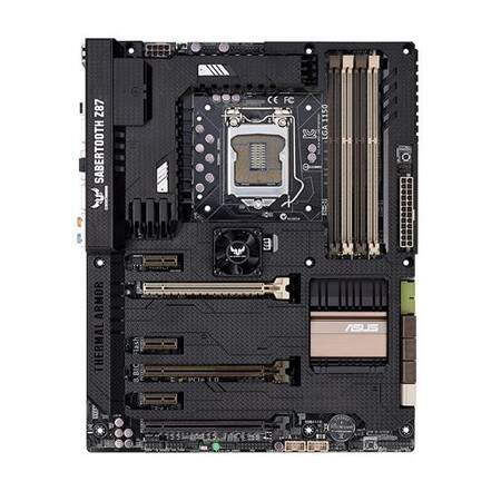 Placa Mae Asus Sabertooth Z87 Lga 1150 Intel Z87 Hdmi Sata 6