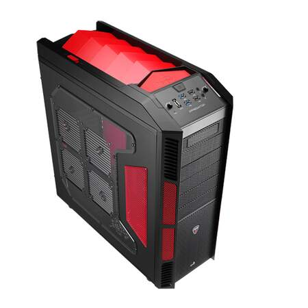 Gabinete AeroCool ATX XPredator Devil Red Window - EN52436