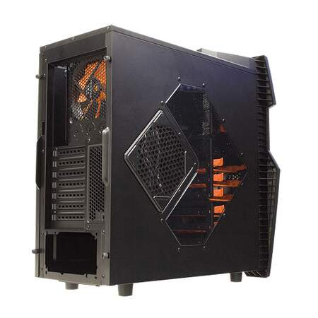 Gabinete Cougar Challenger 6HM6 Orange 4064-4