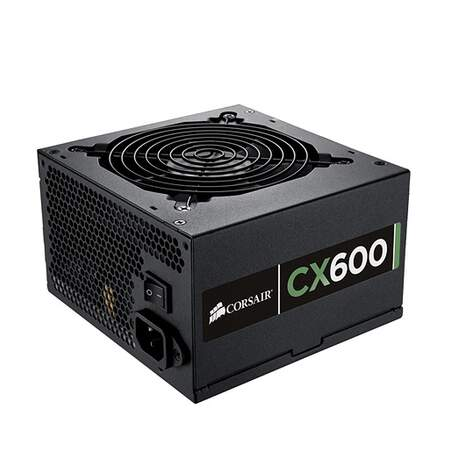 Fonte Corsair CX-600W - CP-9020048-WW 80 Plus Bronze