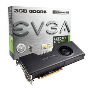 Placa de Video VGA EVGA Superclocked GTX780 3GB DDR5 384-Bit PCI-Express 3.0 GTX780 03G-P4-2785-KR