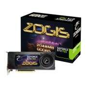 Placa de vídeo Zogis GeForce GXT 760 2GB DDR5 256 Bits PCI-Express 3.0x16 ZOGTX760-2GD5H