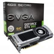 Placa de Video EVGA GeForce GTX 980 SC 04G-P4-2982-KR 4GB 256-Bit GDDR5