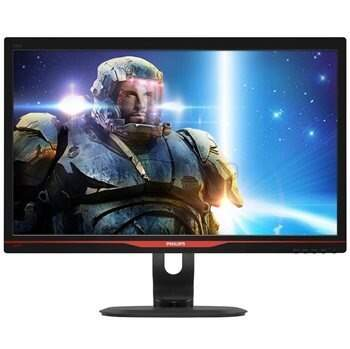 Monitor Philips 24´´ Gamer LED Full HD, DVI/VGA/HDMI/USB 3.0, 144Hz - Preto 242G5DJEB