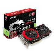 Placa de Vídeo MSI GTX970 Gaming 4G Twin Frozr V Bits 256 DDR5 PCI-Express 3.0 912-V316-006