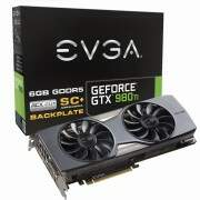 Placa de Vídeo EVGA Gtx980ti 6gb Sc Acx2.0 Led Ddr5 Pci-e