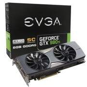 Placa de Video EVGA GeForce GTX 980 Ti Superclocked 06G-P4-4993-KR 384-Bit 6GB GDDR5 PCI-EXP