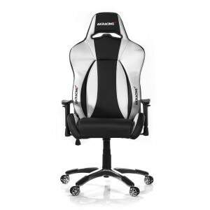 Cadeira Gamer AKRacing Premium Black Silver V2 - AK-7002-BS