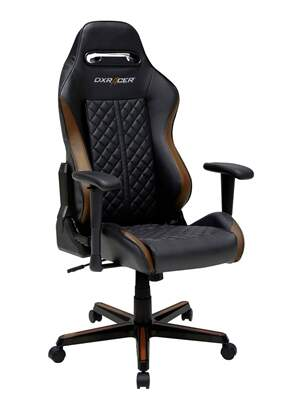 Cadeira DXRacer D-Series Black/Brown - DH73/NC