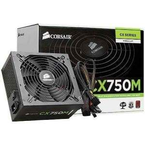 Fonte Corsair ATX 750W - 80 Plus Bronze PSU CX750M - CP-9020061