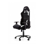 Cadeira Gamer AKRacing Black White