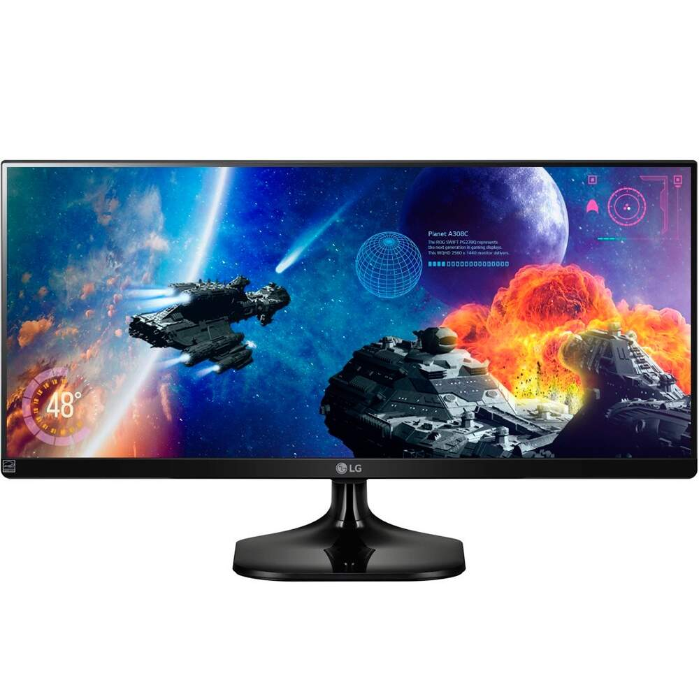 Monitor LG LED 25´ Class 21:9 Ultra Wide IPS LED Gaming Digital - 25UM57-P