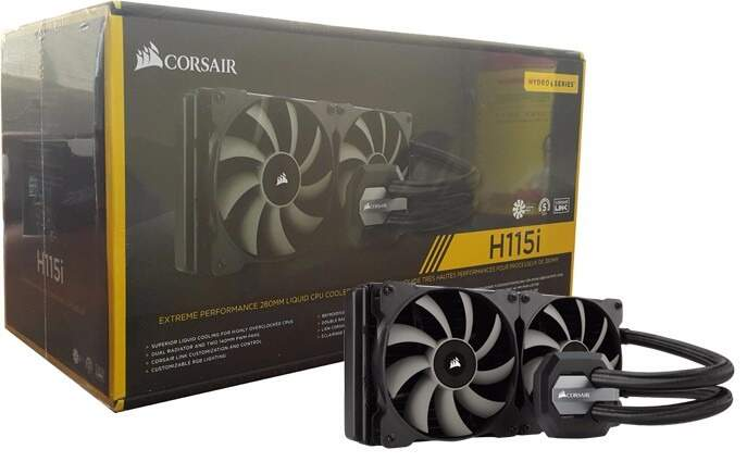 Water Cooler Corsair H115i Extreme Performance 280mm