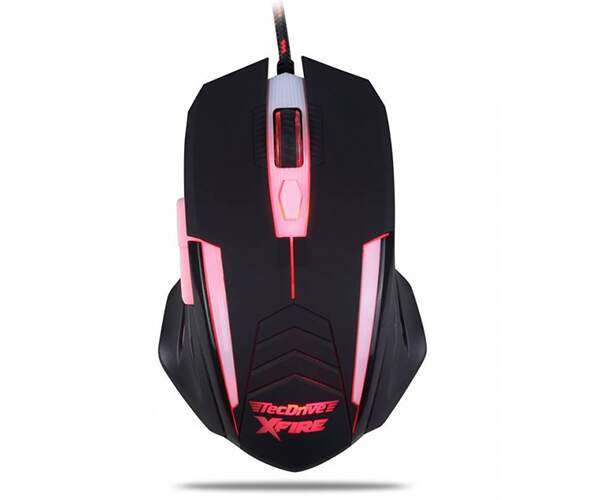 Mouse Gamer Tecdrive Xfire Shinigami 3200 Dpi 7 Botões Blue