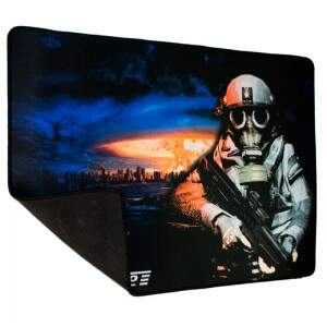 Mouse Pad Gamer TecDrive Xfire Nuclear Strike City Speed