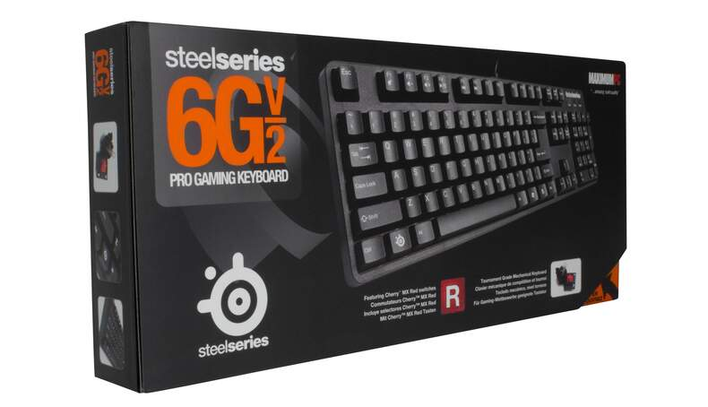 Teclado Steelseries 6G v2 Red