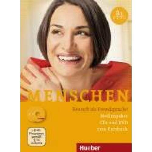 MENSCHEN B1 - Medienpaket (CDs de áudio e DVD do professor)