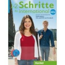 Schritte International Neu A1 - Medienpaket (APENAS CDS DE ÁUDIO e DVD DO PROFESSOR)