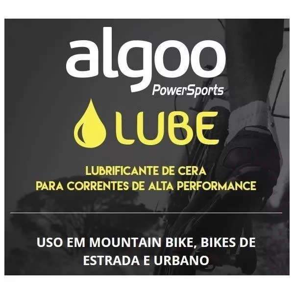 LUBRIFICANTE ALGOO LUBE CERA PARA CORRENTES DE ALTA PERFORMANCE 200 ML - ISP