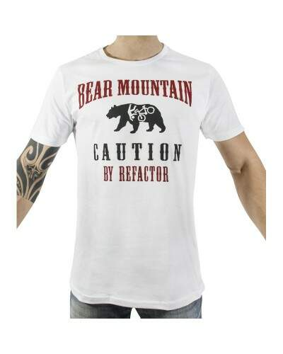 CAMISETA REFACTOR URBAN BEAR MOUNTAIN BRANCA