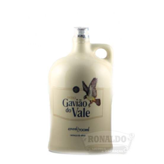 Cachaça Gavião do Vale 700 ml - Porcelana