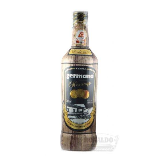 Cachaça Germana Heritage 700 ml
