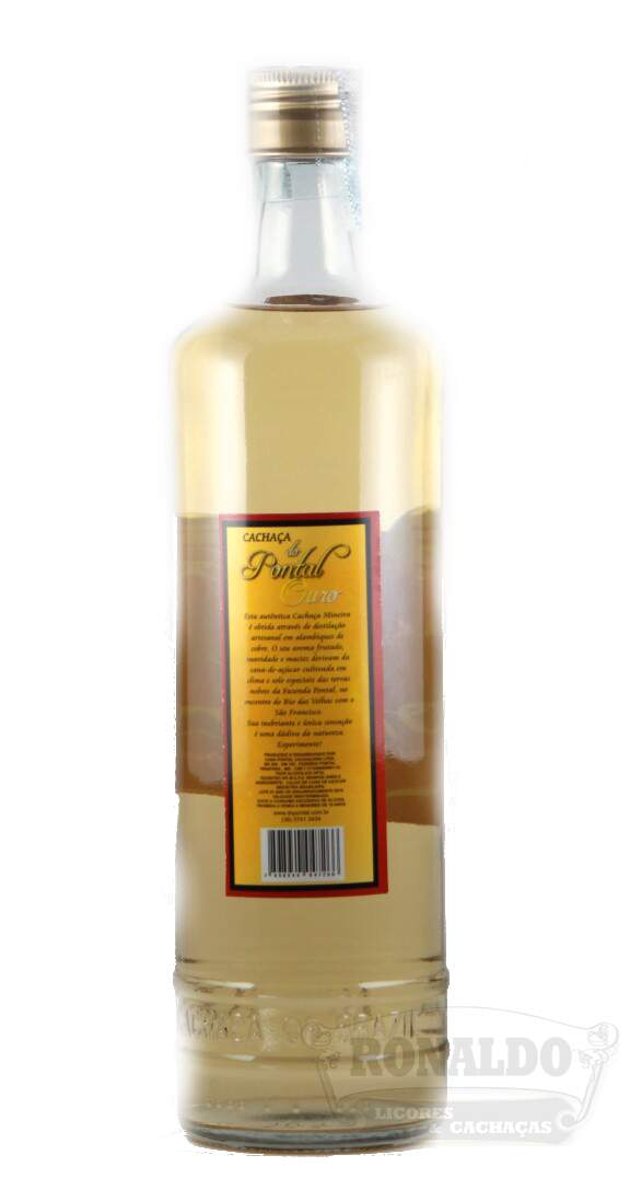 Cachaça do Pontal 670 ml Ouro