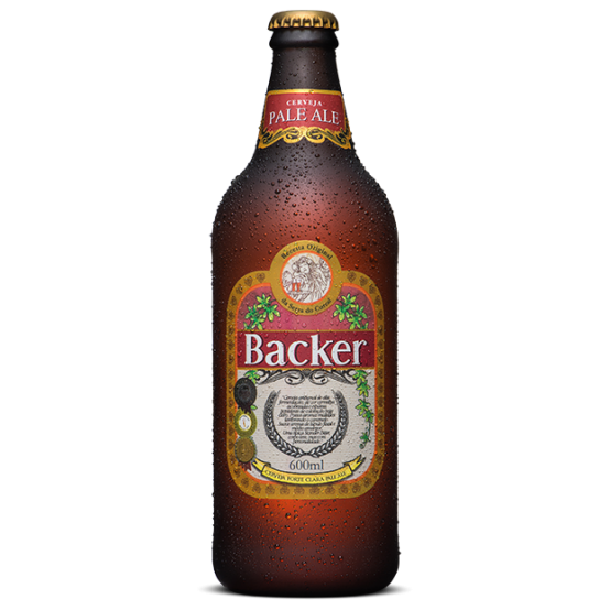 Cerveja Backer 600 ml Pale Ale
