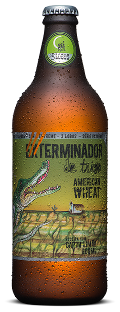 Cerveja Backer 600 ml Tres Lobos American Wheat