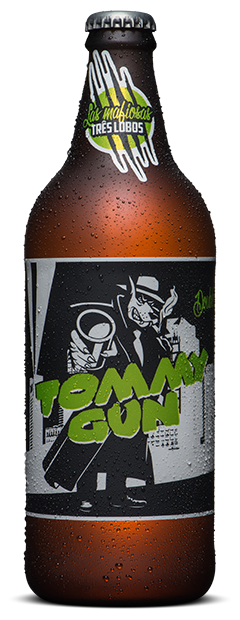 Cerveja Backer 600 ml Las Mafiosas Tommy Gun