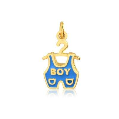 Pingente It´s a Boy - Banho Ouro
