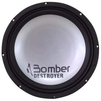 Woofer Bomber Destroyer 12 Pol 1200w Rms 4 Ohms