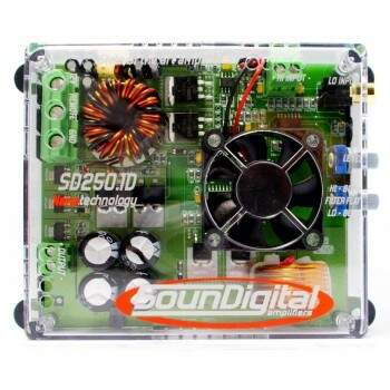 Módulo Amplificador Soundigital SD250.1D 1 ou 2 Ohms