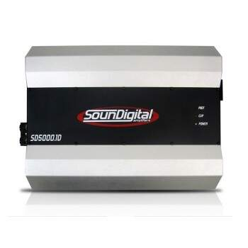 Amplificador Digital Soundigital 5000W Rms 1 Ohm ou 2 ohms SD5000