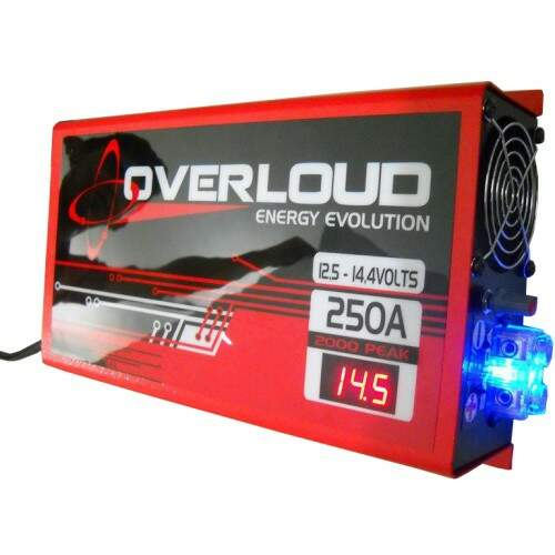 Fonte Automotiva Overloud 250a Bivolt Carregador