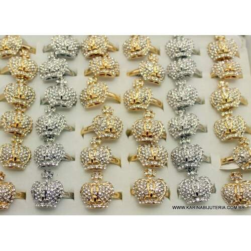 Anel Linha Strass Deluxe  M3   AN1365