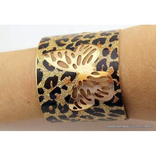 Bracelete Animal Print M1      PU1767