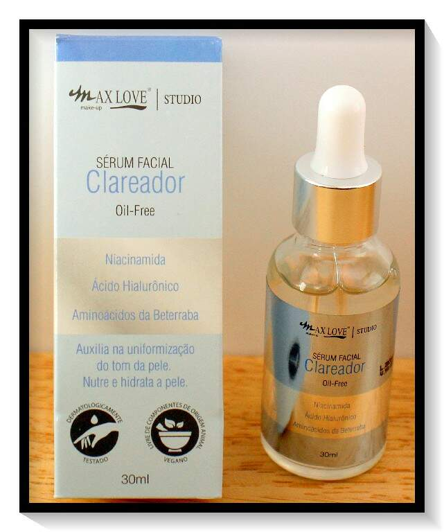 Sérum  Facial Clareador Oil-Free    AC-382