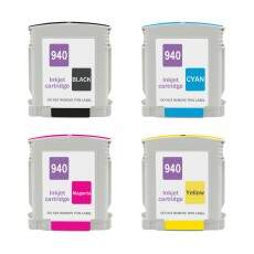 Kit 4 Cartuchos Hp 940 Xl Preto, Cyan, Magenta e Yellow
